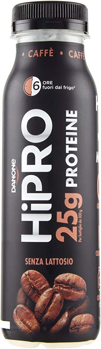 Danone hipro caffè senza lattosio, 300g - 25grammi di proteine - yogurt proteico B088G8HSTB