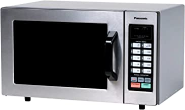 Panasonic Countertop Commercial Microwave Oven with 10 Programmable Memory, Touch Screen Control and Bottom Energy Feed, 1...