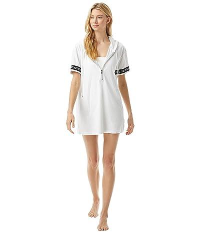 MICHAEL Michael Kors Terry Cover-Up Hoodie Dress
