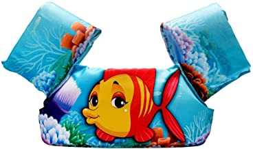 Children Puddle Jumper Life Jackets Swimming Vest Learn to Swim Aid Clown Fish Floating Sleeves