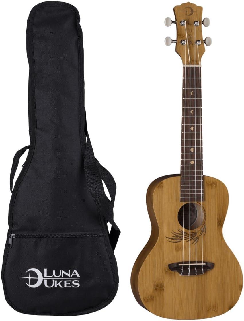 Luna Guitars 4-String Our shop most popular Ukulele BAMBOO UKE Product C