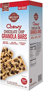 Product of Wellsley Farms Chewy Chocolate Chip Granola Bars, 60 ct. [Biz Discoun