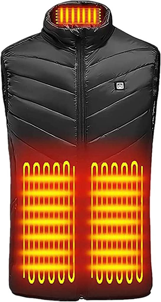 GXLONG Heated Vest for Men Lightweight quality assurance Women Great interest Waistcoat Electric