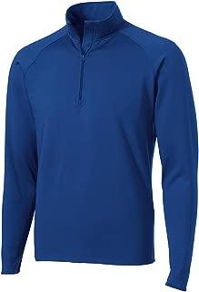 sport wick stretch 1 2 zip pullover