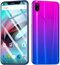 Dual HD Camera Smartphone, NDGDA Eight Cores 6.2 inch Android 8.1 IPS Full Screen 16GB Touch Screen WiFi Bluetooth GPS 3G Call Mobile Phone (Purple)