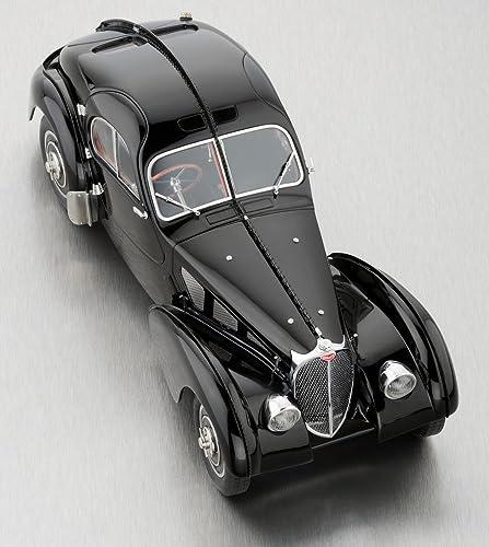 Bugatti Type 57 SC Atlantic Coupé, Schwarz 1938, Modellauto, Fertigmodell, CMC 1 18