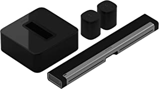 Sonos 5.1 Home Theater System with One SL (1 Item) Bundle with One (1 Item), PLAYBAR TV Soundbar (1 Item) and SUB (1 Item) - Black