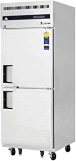 Everest ESFH2 Swing Solid Freezer, One Section Half Door, 29.25L x 32W