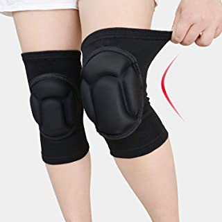VOUM Protective Knee Pads, Thick Sponge Anti-Slip, Collision Avoidance Knee Sleeve,Outdoor Climbing Sports Riding Protecto...