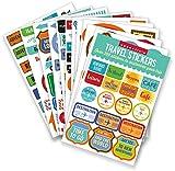 Essentials Travel Planner Stickers (set of 200+ stickers)