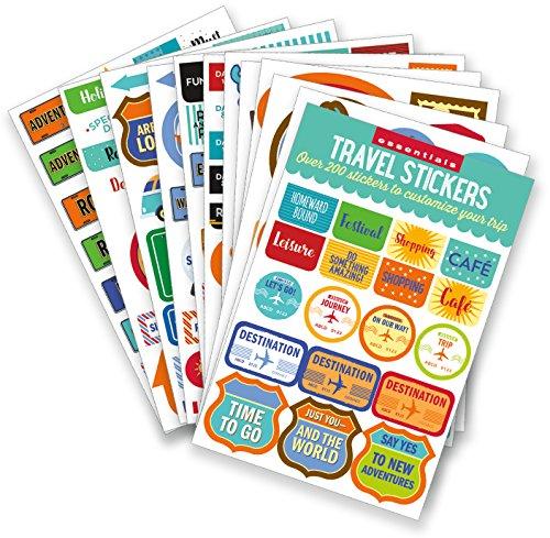 Essentials Travel Planner Stickers