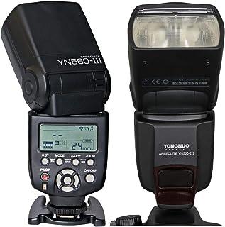 Yongnuo YN560 III لاسلكية LCD Speedlite YN-560 III لكاميرا Canon Nikon Pentax