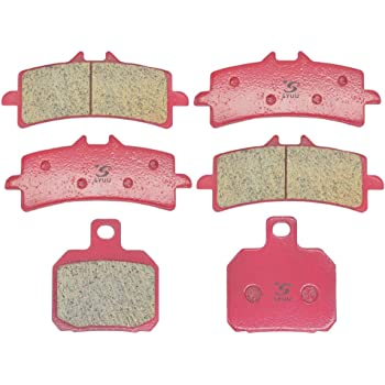 SYUU Motorcycle Replacement Front Rear Brake Pads Brakes for Suzuki GSX 1300 R Hayabusa 2013 2014 2015 FA447F FA419R
