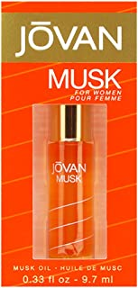 Jovan Musk by Coty for Women 0.33 oz Perfumed Musk Oil