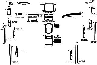 Rdash Dash Kit Decal Trim for Infiniti G35 2007-2008 (Sedan) - Carbon Fiber 4D (Black)