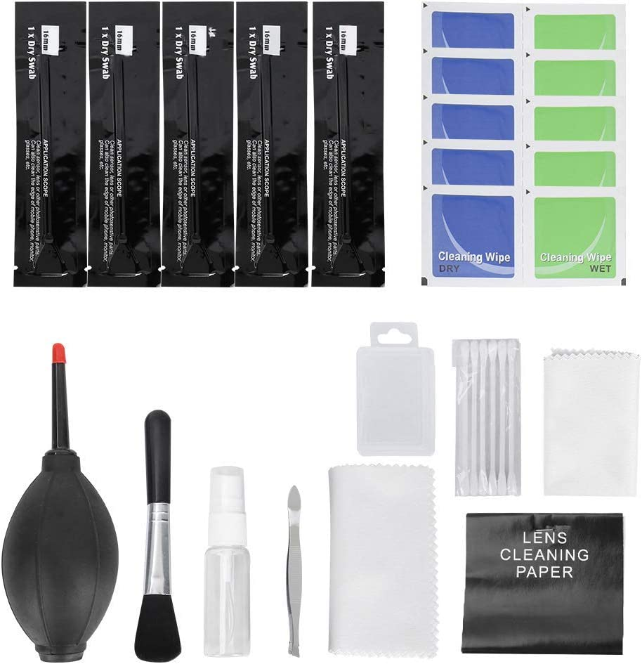 Today's only Time sale Ladieshow 12PCS Professional Cleaning Set Camera Digital PC Lapt