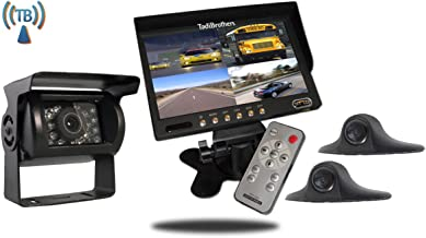 Tadibrothers 7 Inch Wireless Ultimate RV Trailer Backup Camera System