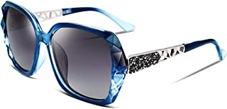 Classic Polarized Women Sunglasses Sparkling Composite...