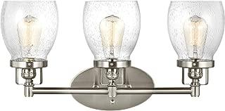 Sea Gull Lighting 4414503-962 Belton Three Light Wall/Bath Vanity Style Lights, Brushed Nickel Finish