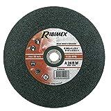 RIBIMEX PRDAEA125 Disco per Sbavo Acciaio, 125 x 6.4 x 22.2 mm...