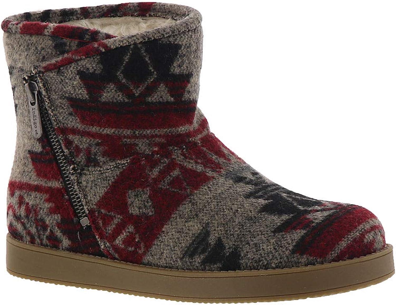 Indigo Rd. Womens Ashley Faux Fur Closed Toe Ankle Fashion Boots