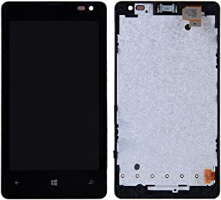 Mobile Replacement Parts iPartsBuy LCD Screen + Touch Screen Digitizer Assembly with Frame for Microsoft Lumia 435