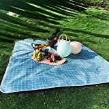 TENGCHUANGSM Durable Camping Mat impermeable playa manta al aire libre portátil Picnic tierra Mat colchón camping al aire libre Picnic Mat manta