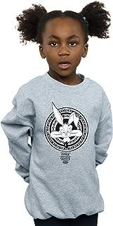 Looney Tunes Girls Wile E Coyote Super Genius Sweatshirt