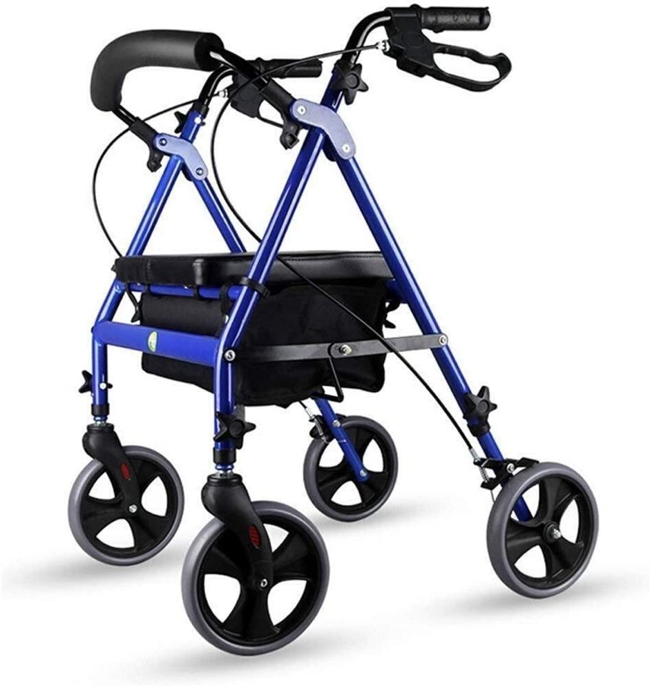 Walker for Seniors Rollator Shipping included Roller Alum The favorite Elderly -