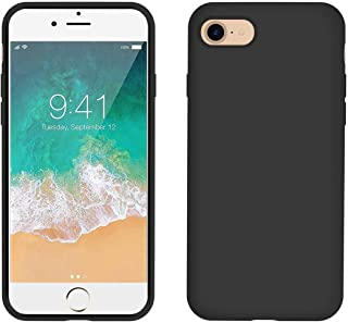 AOWIN iPhone Xs MAX Case Silicone-Black