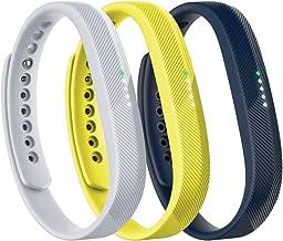 Fitbit Flex 2 Accessory 3 Piece Pack, Sport, Large, 0.13 Pound