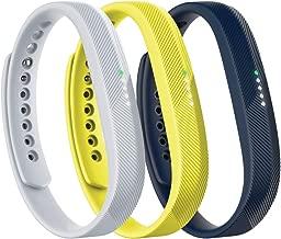 Fitbit Unisex Flex 2 Akseuar Band Flex2 3 Adet Band