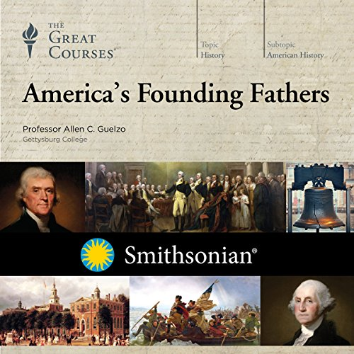 America's Founding Fathers audiobook cover art