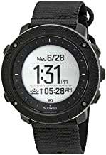 Suunto Traverse Alpha Digital Dial Nylon Strap Men's Watch SS022469000