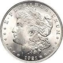 1921 S Morgan Dollar $1 About Uncirculated