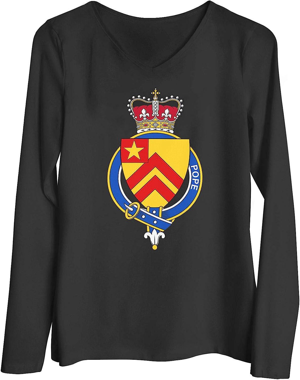 HARD EDGE DESIGN Women's Garter Family Pope T-Shirt