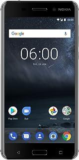 "Nokia 6 - Android 9.0 Pie - 32 GB - Dual SIM Unlocked Smartphone (AT&T/T-Mobile/MetroPCS/Cricket/Mint) - 5.5"" FHD Screen - Black - U.S. Warranty"