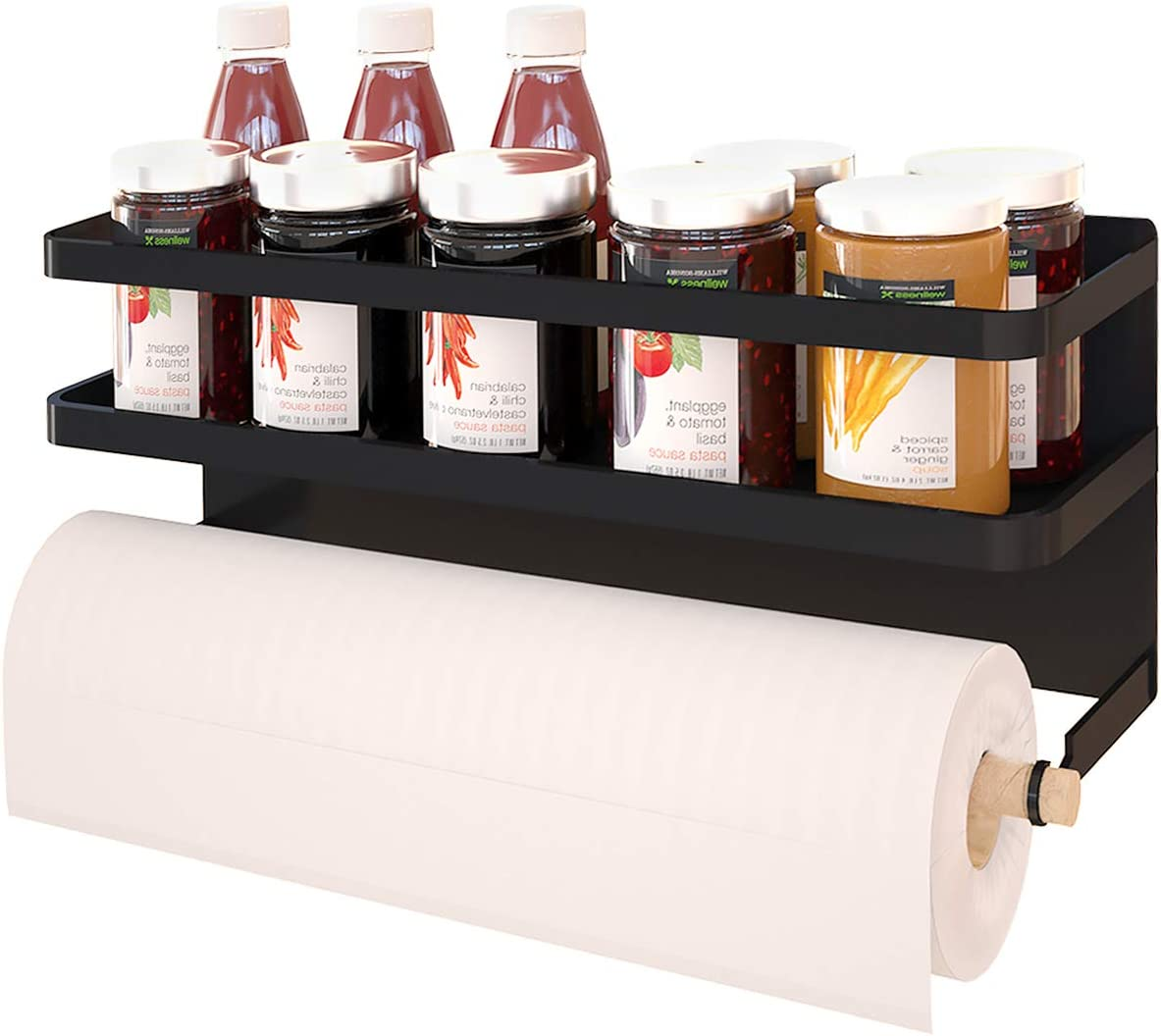 Magnetic Paper Towel Japan's largest assortment Holder Regular store Kitchen Refrigerator for To