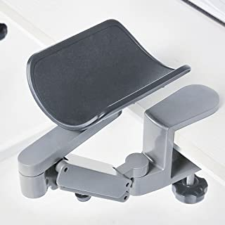 FUZADEL Arm Rests Ergonomic Arm Rest Rotating Computer Arm Rest Support Office Chair Arm Pads Hand Wrist Rest with Wrist R...