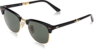 Ray-Ban Unisex Foldable Clubmaster Sunglasses