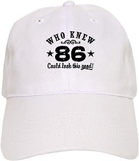 f11dbecd15d422 CafePress - Funny 86th Birthday Cap - Baseball Cap with Adjustable Closure,  Unique Printed Baseball