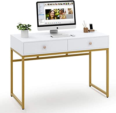 Amazon Com Z Line Belaire Glass L Shaped Computer Desk