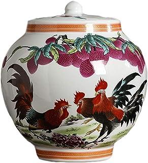 Jarrones Florero de cerámica clásicos for secar Flores de la decoración del Arte casero Boda Salón Dormitorio Oficina de E...