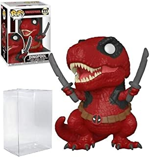 Dinopool Deadpool Pop #777 Pop Marvel Deadpool Vinyl Figure (Bundled with EcoTek Protector to Protect Display Box)