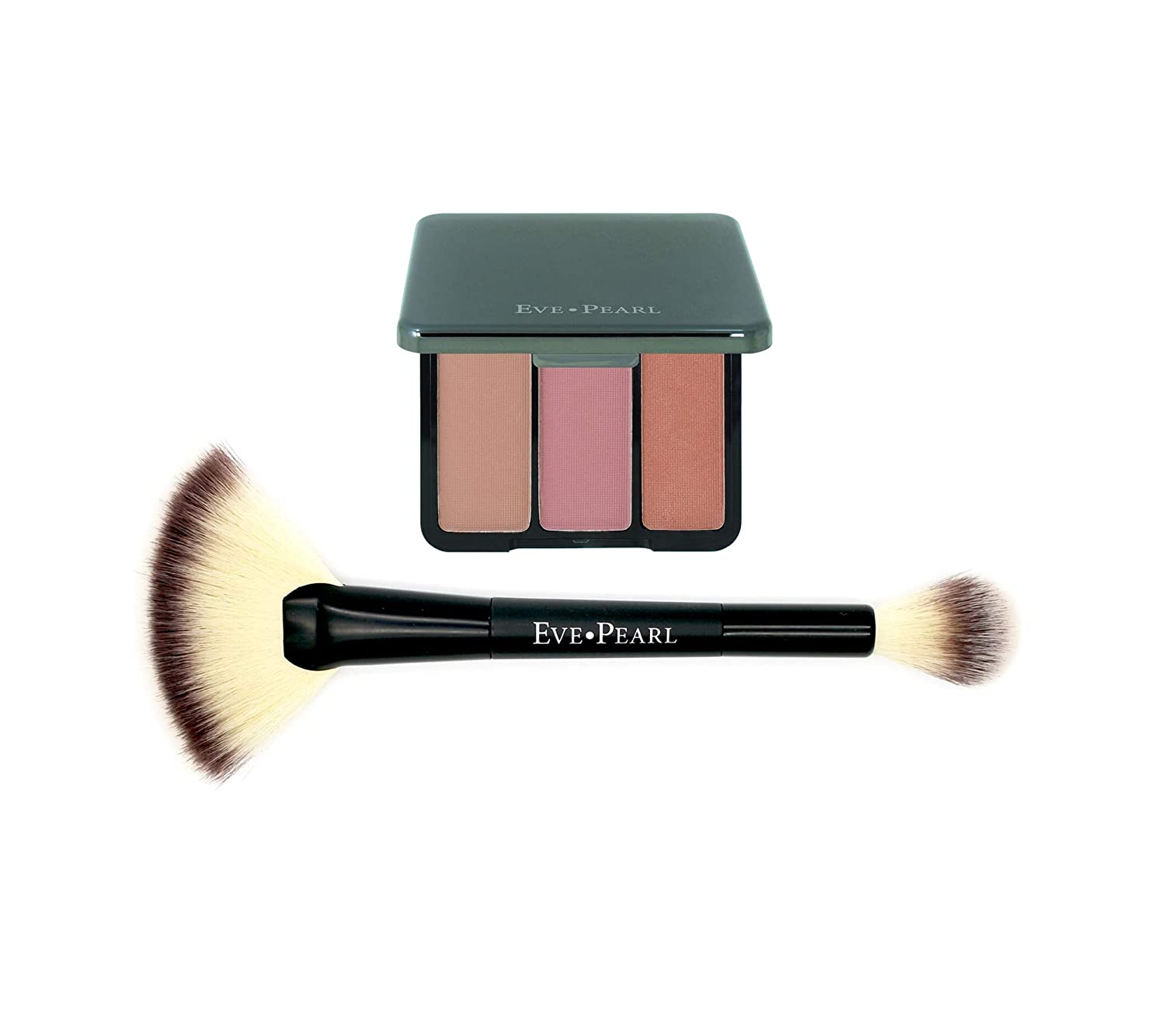 70% OFF Outlet EVE PEARL Blush Trio Palette Super sale period limited Makeup Lasting Skincare Long