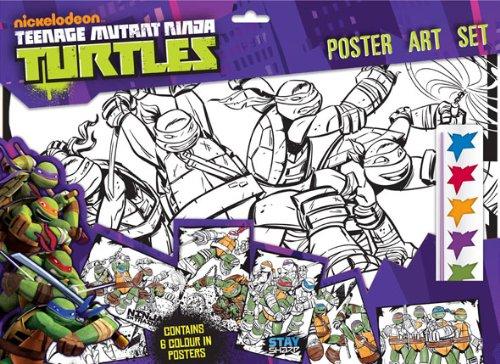 Anker - Anktupa - Kit De Loisirs Créatifs - Ensemble Fait Tes Posters - Turtles