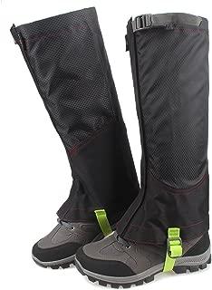 MAGARROW Unisex Leg Gaiters Outdoors Hiking Gaiters Snow Gaiters Boots Cover