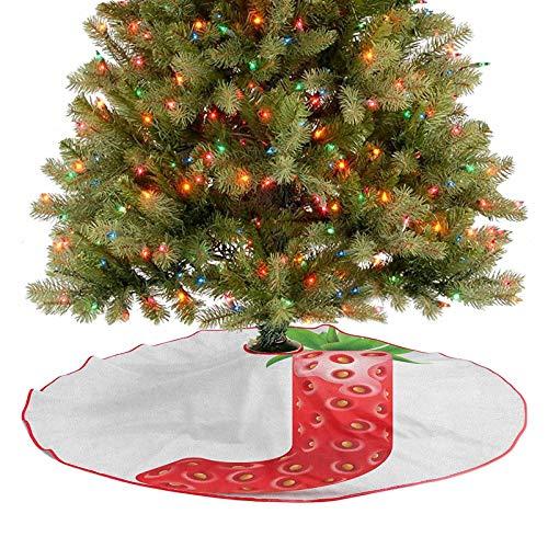 Homesonne Falda de árbol de verano con forma de letra con...