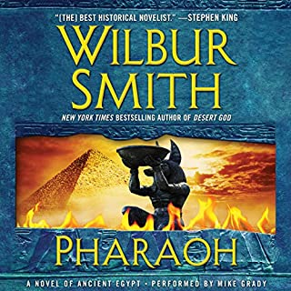 Pharaoh audiobook cover art