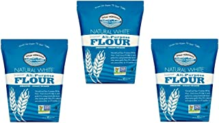Wheat Montana Farms & Bakery Natural White Premium All-Purpose Flour, 10 lbs (Pack of 3)